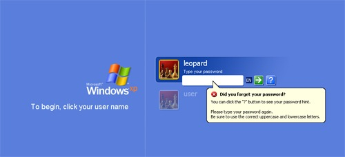 log in to windows 7 without password
